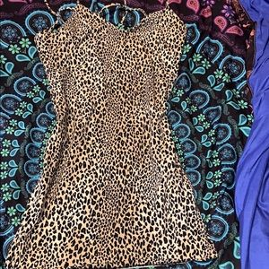 Forever 21 cheetah print dress